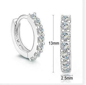 Sterling Silver Hoop  Earrings for Women