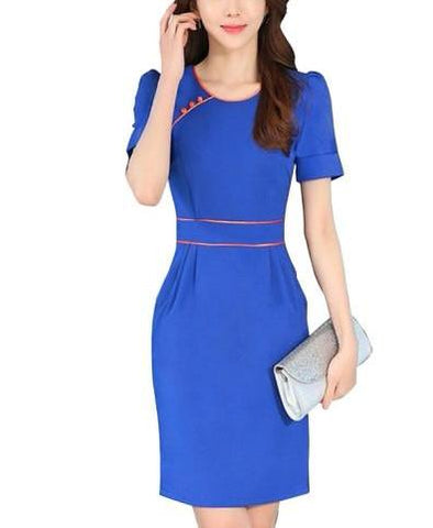 Workwear Women's  Dress (Plus Size Available)