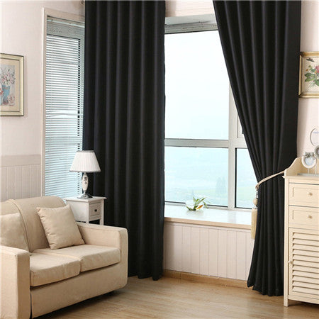 Solid Color Curtains/Full Shade