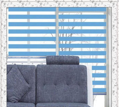 Zebra roller blinds waterproof shades for living room