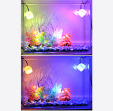 Indoor LED Underwater Lamp Waterproof LED Aquarium Light for Coral Reef Fish Tank Submersible Aquarium Light Spot Lamp in Water
