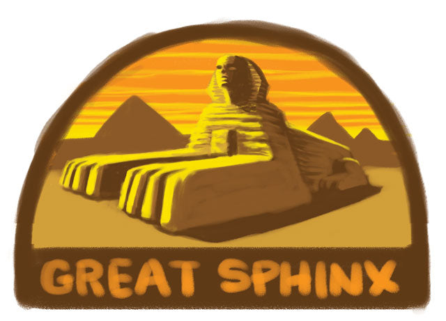 Great Sphinx patch sketch