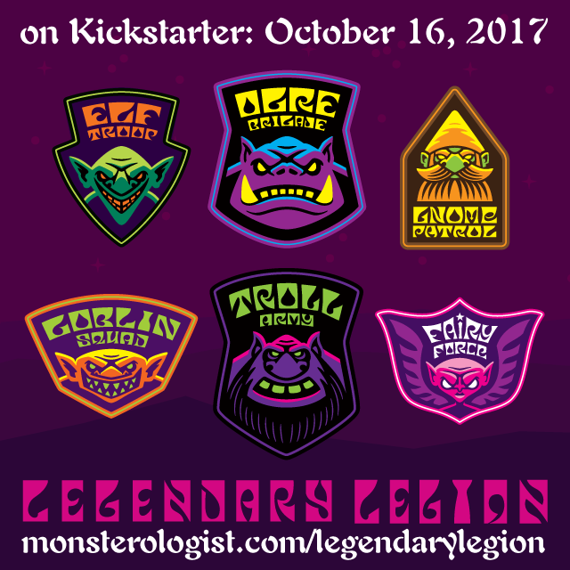 """Legendary Legion"" patch set - live on Kickstarter"
