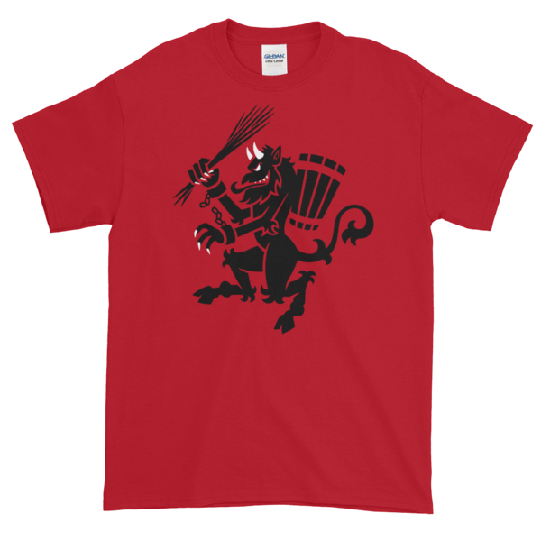 Krampus t-shirts now in the shop!