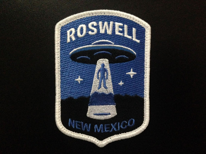 """Roswell"" UFO Alien Abduction Patch Pre-Order"
