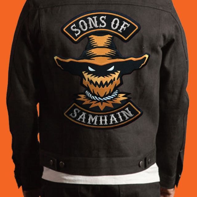 """Sons Of Samhain"" Back Patch - Kickstarter Campaign"