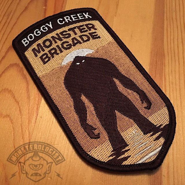 """Boggy Creek Monster Brigade"" patch: pre-orders now shipping"