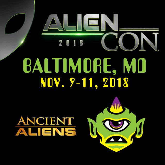 Monsterologist artist table event at AlienCon Baltimore 2018
