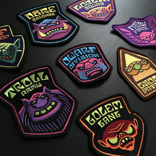 Legendary Legion embroidered patches
