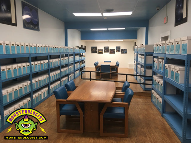 Roswell UFO Museum research library