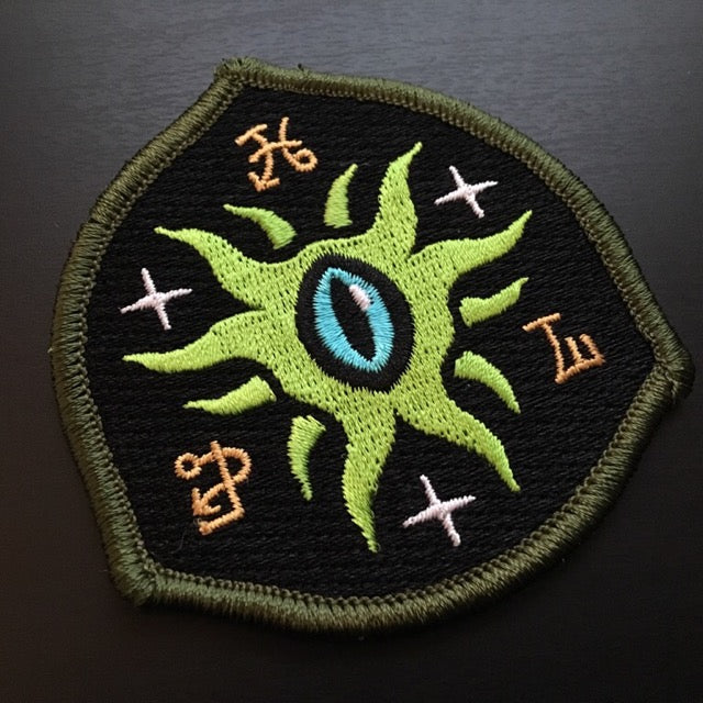 Eye Of Shoggoth embroidered patch by Monsterologist