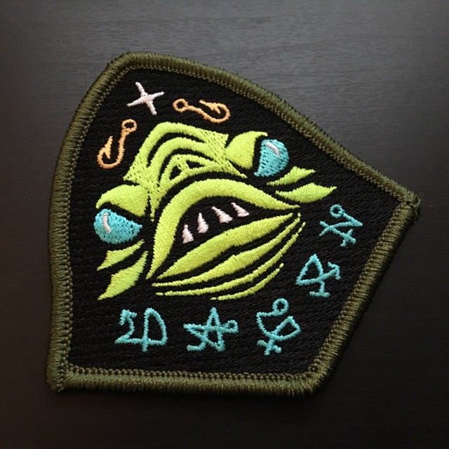 Sons Of Dagon embroidered patch by Monsterologist