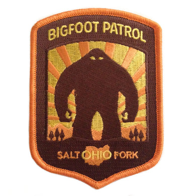 Bigfoot Patrol: Salt Fork Ohio Patch