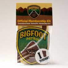 Bigfoot Patrol Membership Kit Park Ranger Patch