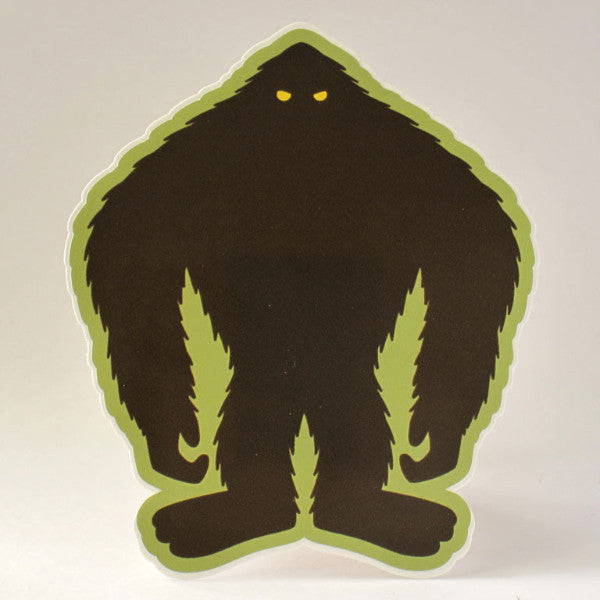 Bigfoot Patrol Silhouette Sticker