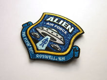 Alien Air Force Embroidered Patch