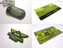 Cryptid Command Officer Kit Paranormal Forces Pvc Emblem Dog Tag Card