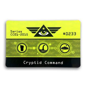 Cryptid Command ID card