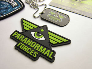 Paranormal Forces patch (PVC emblem)