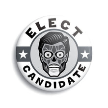 Load image into Gallery viewer, Elect Candidate (They Live) campaign button
