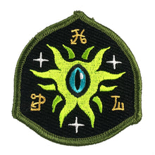 Load image into Gallery viewer, Eye Of Shoggoth embroidered patch by Monsterologist