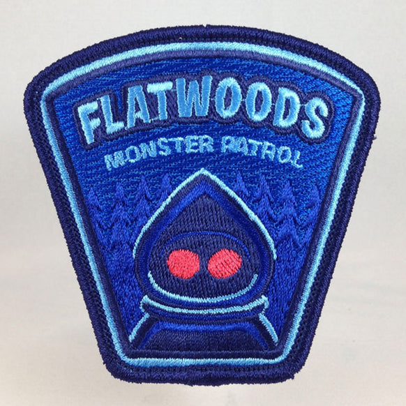 Flatwoods Monster cryptozoology military embroidered morale patch by Monsterologist