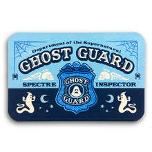 Load image into Gallery viewer, Ghost Guard ID card (glow-in-the-dark)