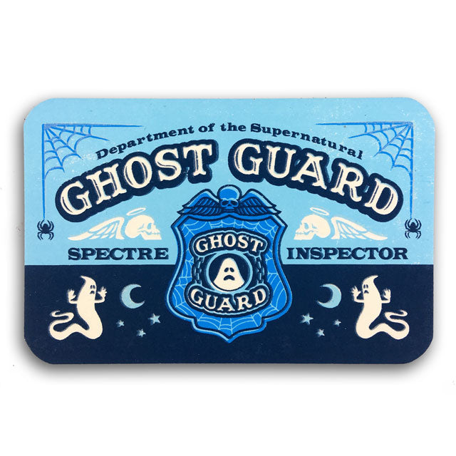 Ghost Guard ID card (glow-in-the-dark)