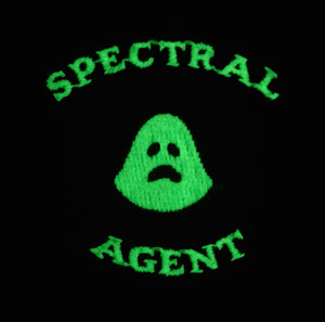 Ghost Guard Patch Spectral Agent Glow In Dark