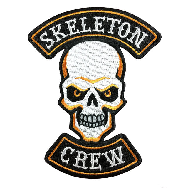 Hallows Angels Halloween Motorcycle Biker Patch Skeleton Crew Skull | Monsterologist