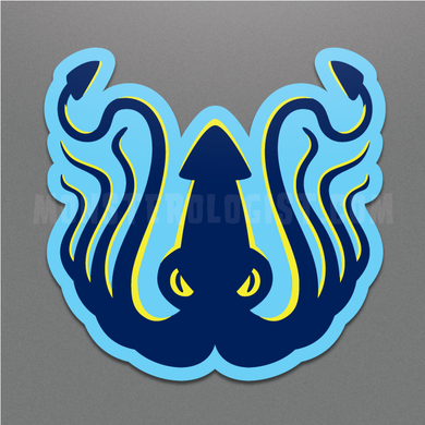 Kraken sea creature cryptozoology sticker by Monsterologist