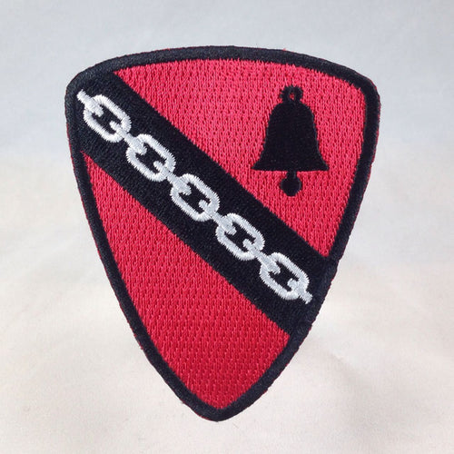 Order Of Krampus Heraldic Patch Solo Bell And Chain