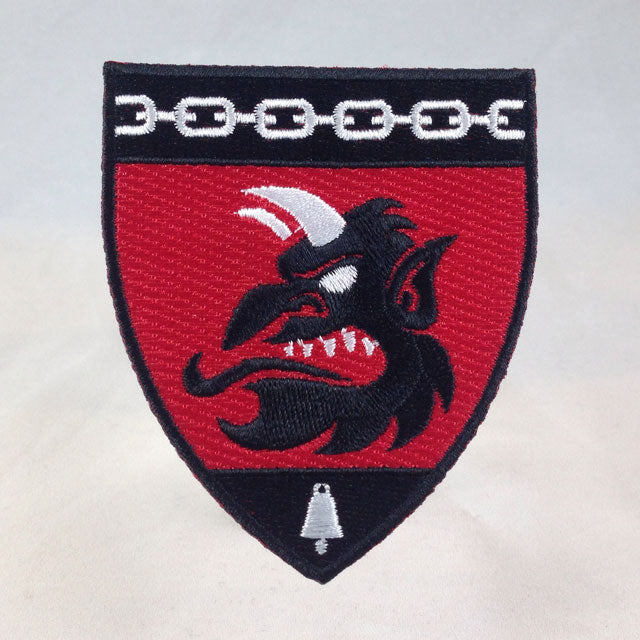 Order Of Krampus Heraldic Patch Carded Krampus Profile
