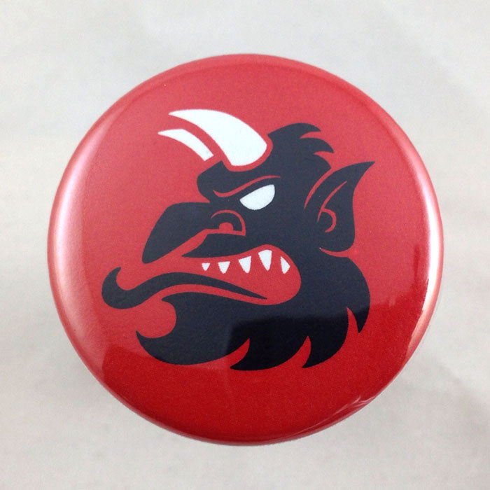 Krampus Head Profile button