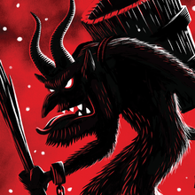 Load image into Gallery viewer, Krampus Approaches print