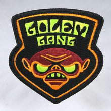 Load image into Gallery viewer, Golem Gang  embroidered patch psychedelic blacklight sword-and-sorcery