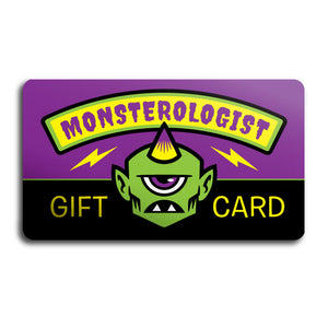 Monsterologist Gift Card