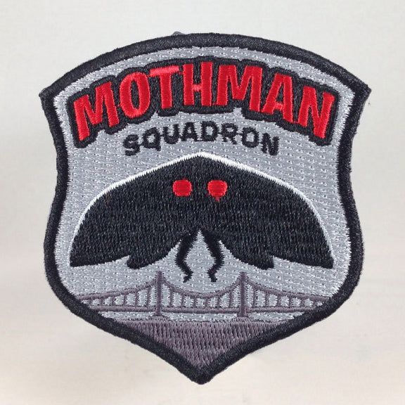 Mothman Squadron embroidered patch