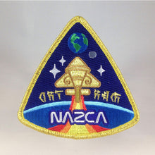 Load image into Gallery viewer, Nazca Ancient Astronaut Space Mission Patches Nibiru Officer Insignia | Monsterologist