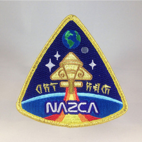 Nazca Ancient Astronaut Space Mission Patches Nibiru Officer Insignia