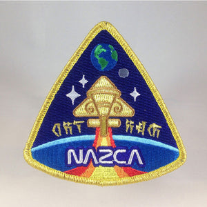 Nazca Ancient Astronaut Space Mission Patches Nibiru Officer Insignia | Monsterologist