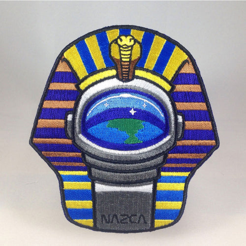 Nazca Ancient Astronaut Space Mission Patches Pharaoh Astronaut
