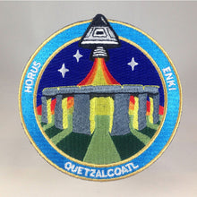 Load image into Gallery viewer, Nazca Ancient Astronaut Space Mission Patches Stonehenge Station