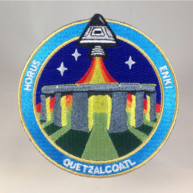 Nazca Ancient Astronaut Space Mission Patches Stonehenge Station