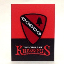 Order Of Krampus Heraldic Patch Carded Bell And Chain