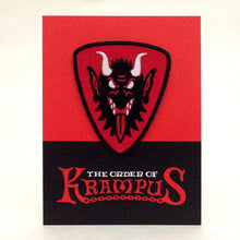 Load image into Gallery viewer, Order Of Krampus Heraldic Patch Carded Krampus Face