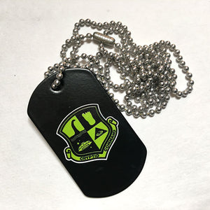 Paranormal Forces dog tag