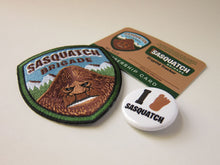 Sasquatch Brigade Membership Kit Park Ranger Patch Items
