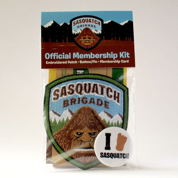 Sasquatch Brigade Membership Kit Park Ranger Patch