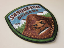 Load image into Gallery viewer, Sasquatch Brigade Park Ranger Patch angled